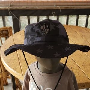 Blackout flag Boonie Fishing Hat